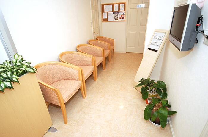 内視鏡検査専用待合室